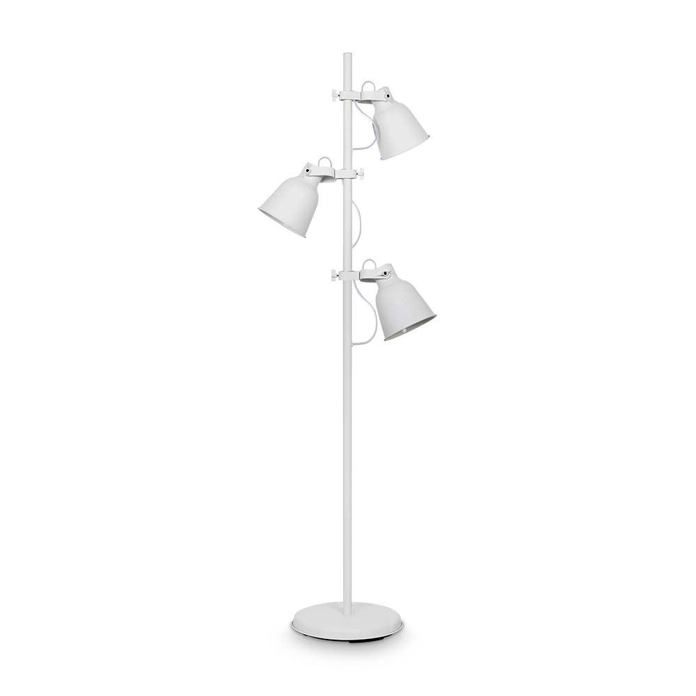 Ideal Lux Stehleuchte Maurien 3-flg. Weiß 2