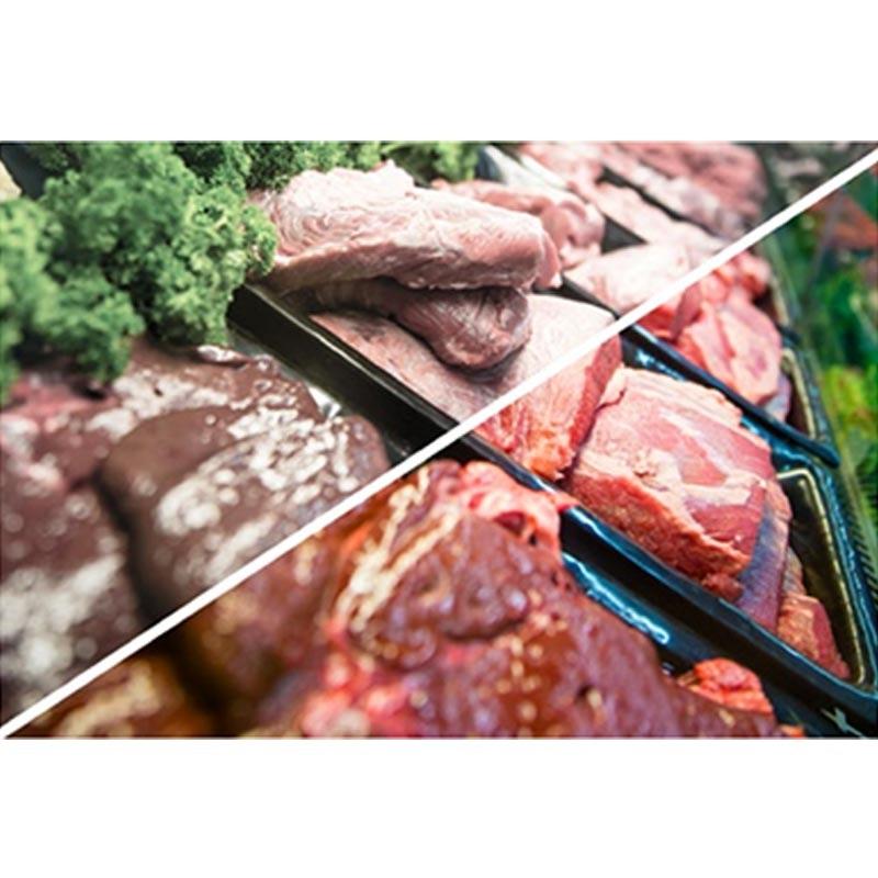 LED-Leuchtmittel für Fleischwaren 948lm fokussierbar 35°-50° für Einbaurahmen SHOP 2