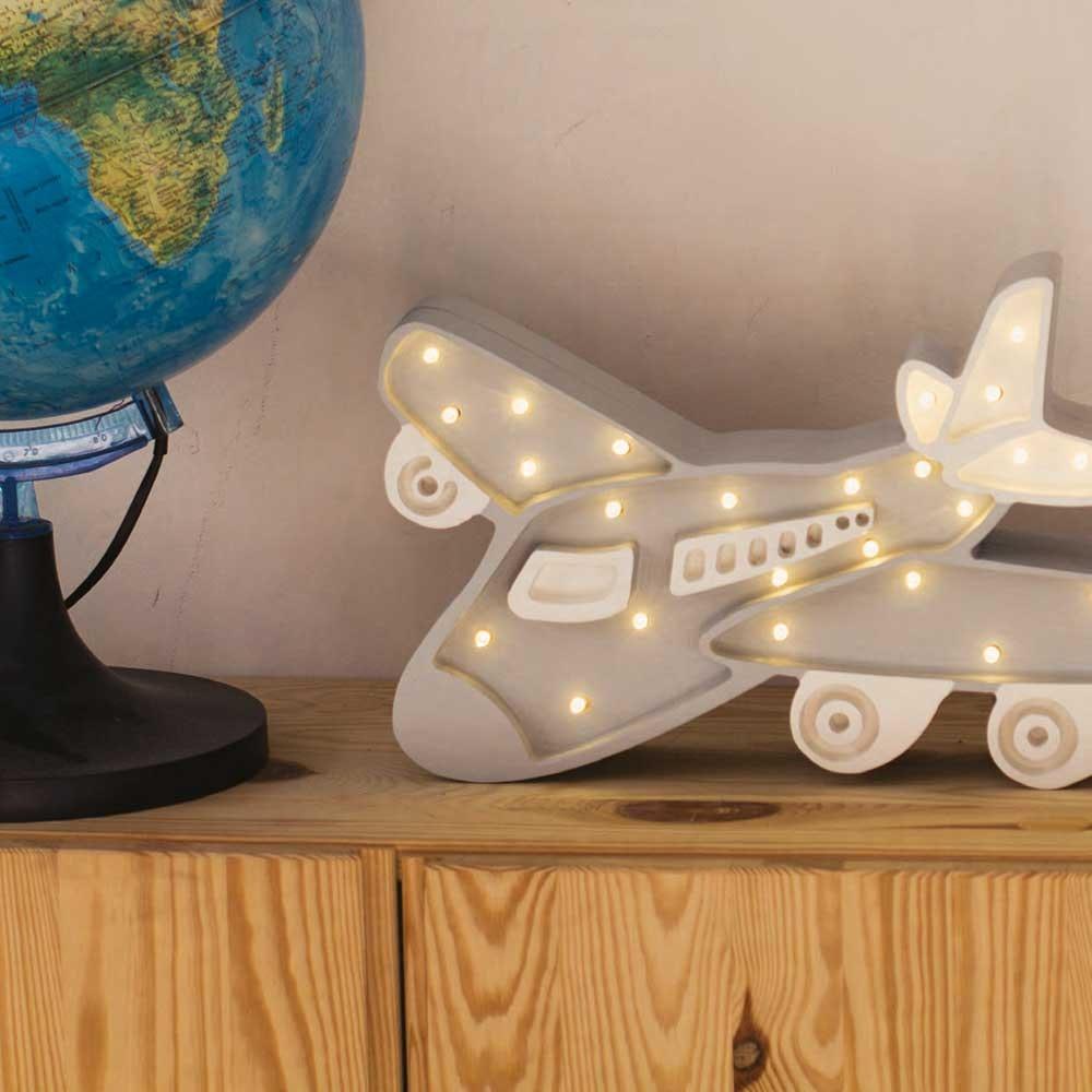 Little Lights Kinder-Wandleuchte Flugzeug  1