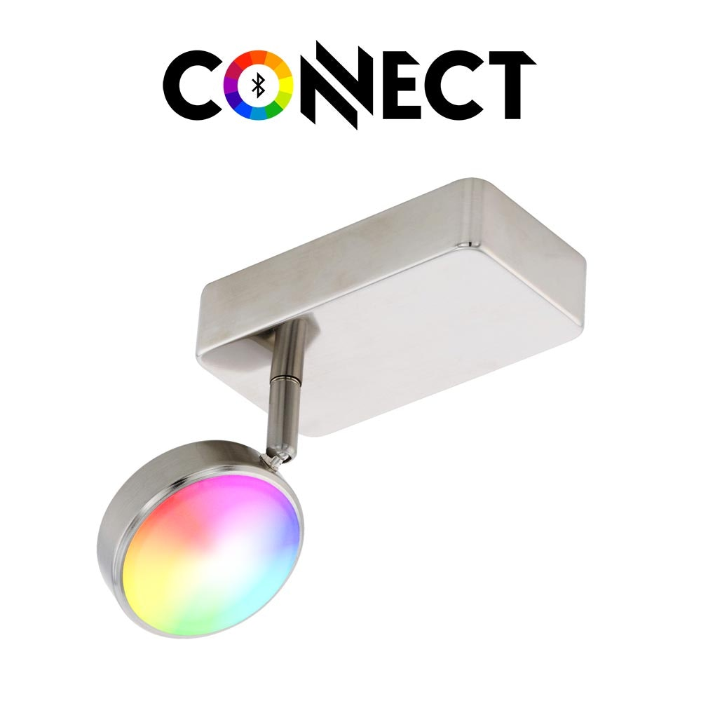 Connect LED Wandstrahler 600lm RGB-CCT
