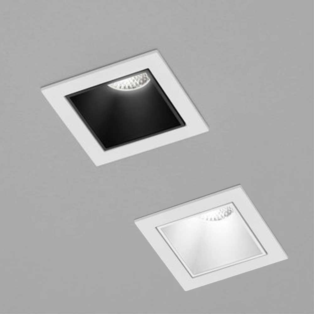 Helestra Mini LED Einbaustrahler PIC eckig 500lm 11
