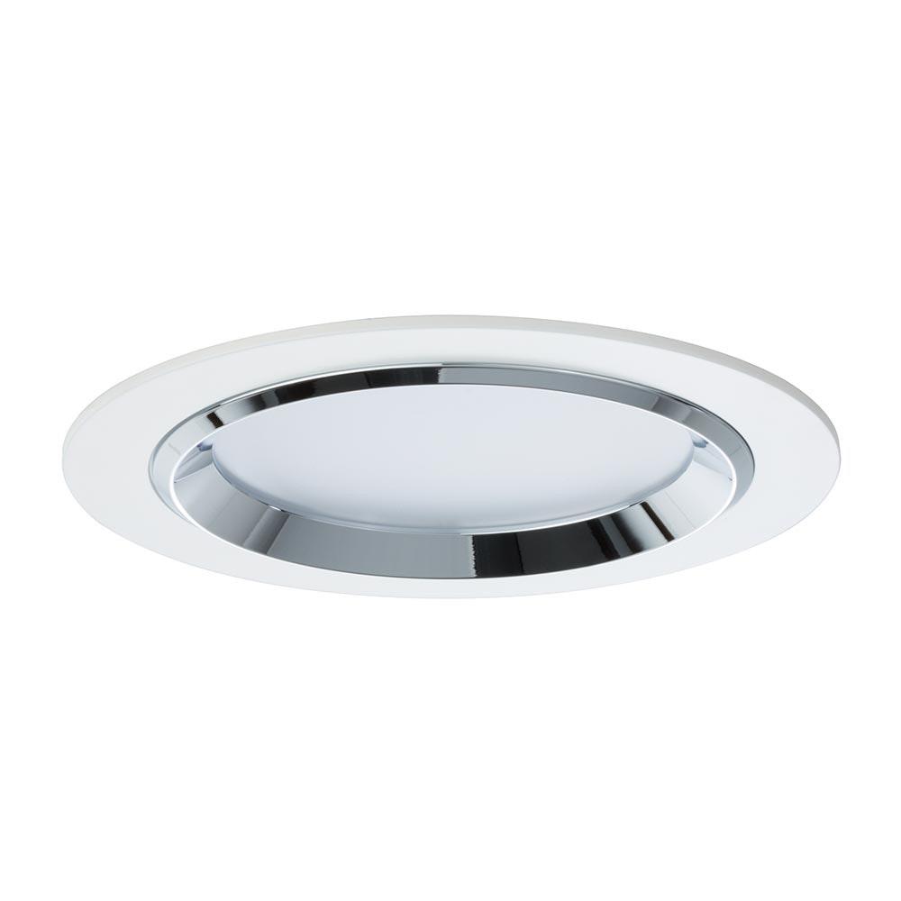 Premium EBL Set Dot rund LED 3x8W 36VA Weiß Chrom Alu 2