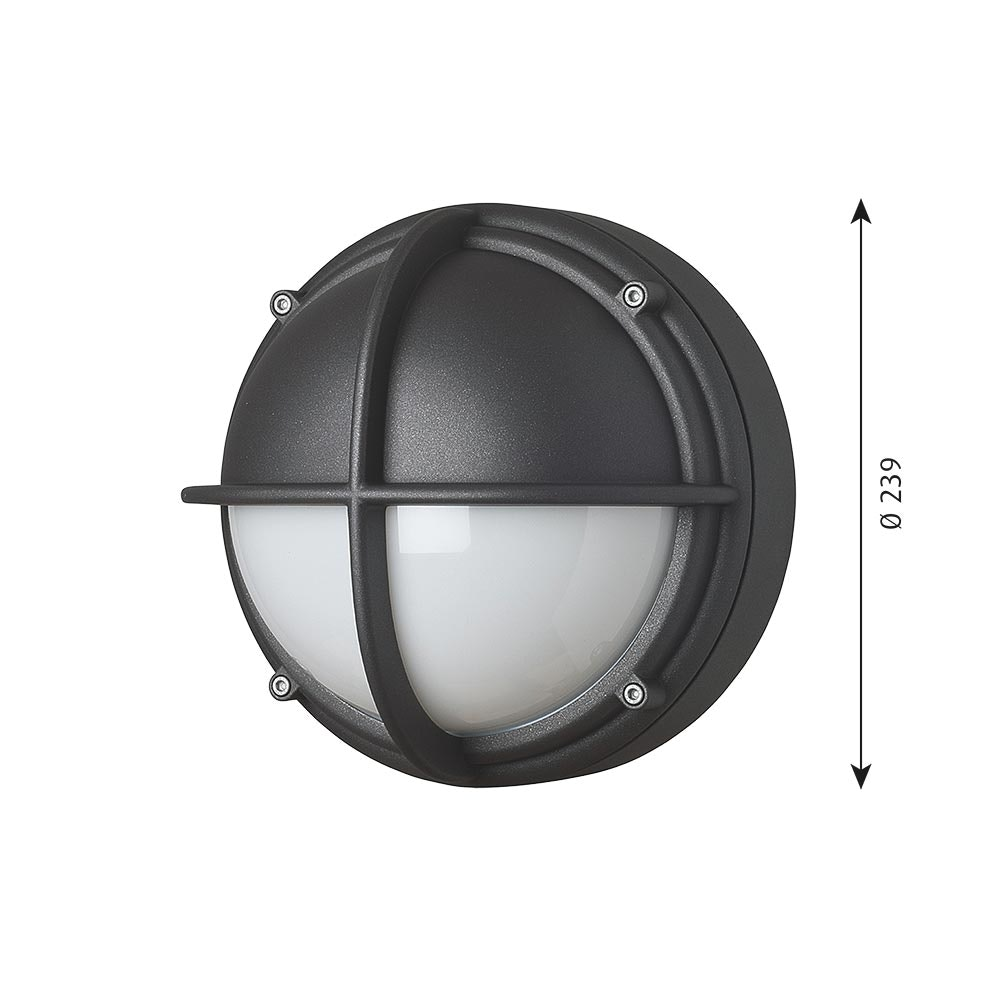 Louis Poulsen LED Außenwandleuchte Skot IP66 11