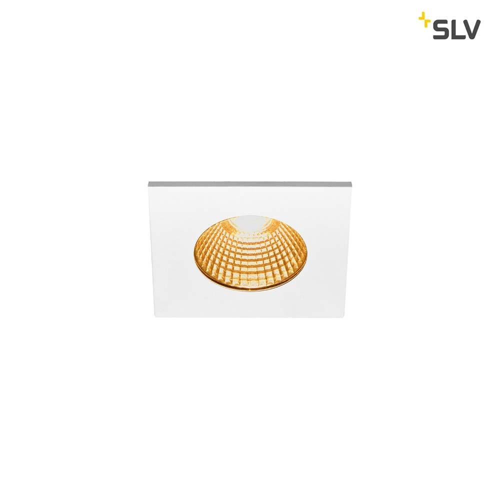 SLV Patta-I LED Aussen-Einbauleuchte Eckig IP65 Weiß 3