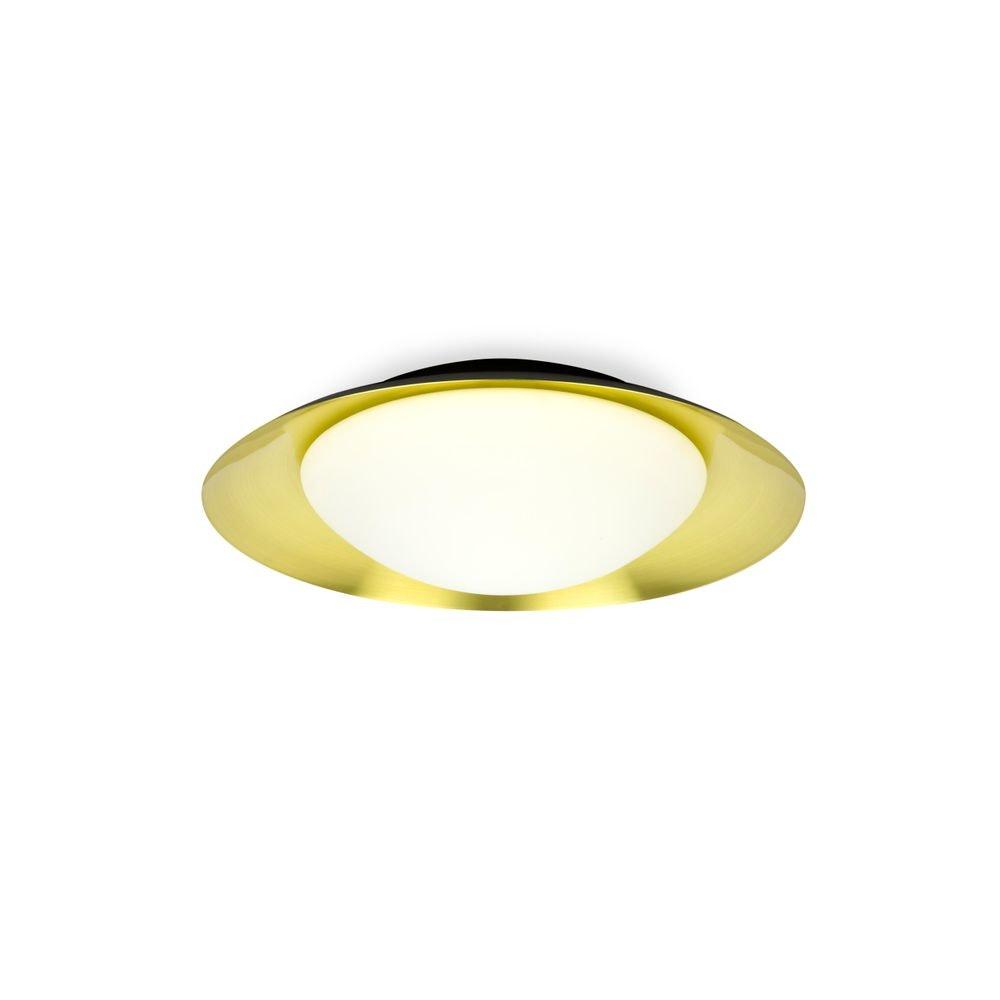 LED Deckenleuchte SIDE 15W Schwarz, Goldfarben