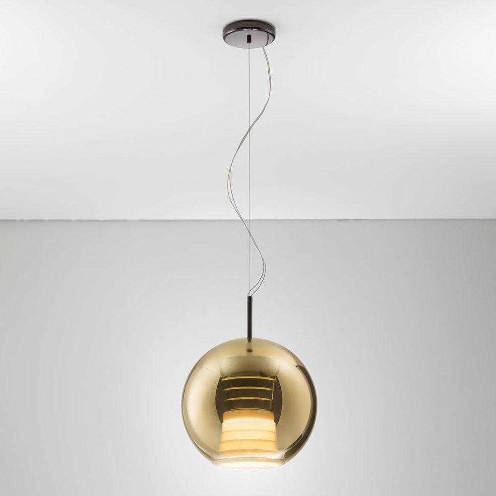Fabbian Beluga Royal LED-Pendelleuchte Ø30cm 4