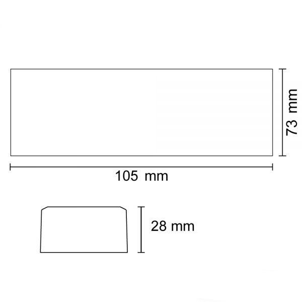 ZigBee Mesh 4 Kanal Dimmaktor für LED Flexbänder und Spots 12-24 V/DC 6A 4