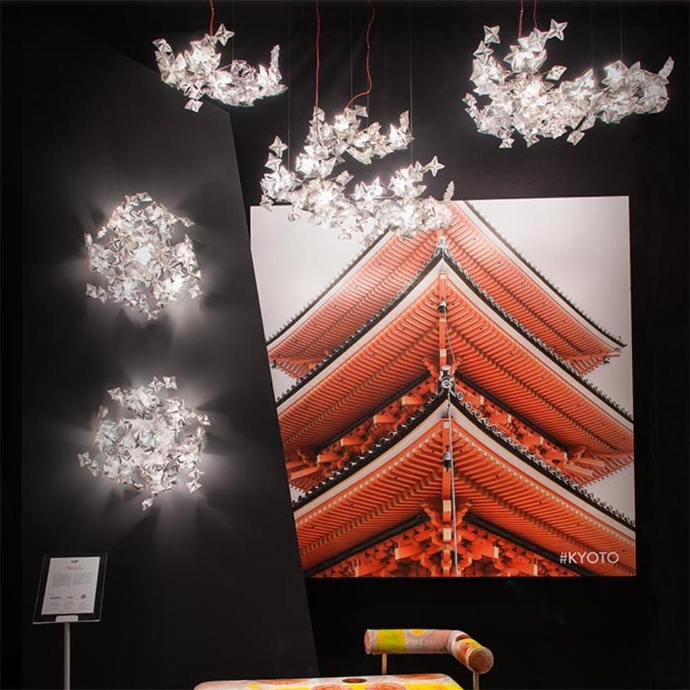 Slamp LED Hängelampe Hanami 2500lm 2700K Prisma 5
