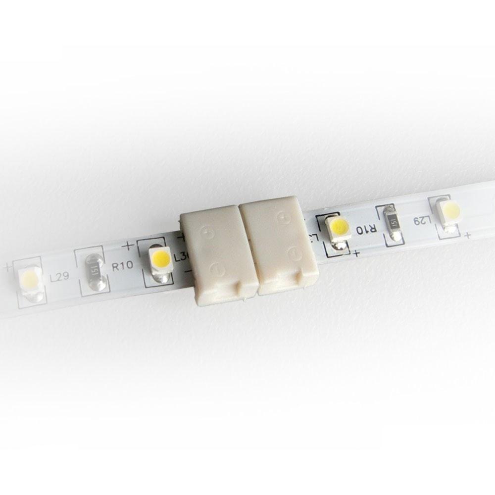 Schnellverbinder Clip 2pol 8mm einfarbige LED-Strip 2
