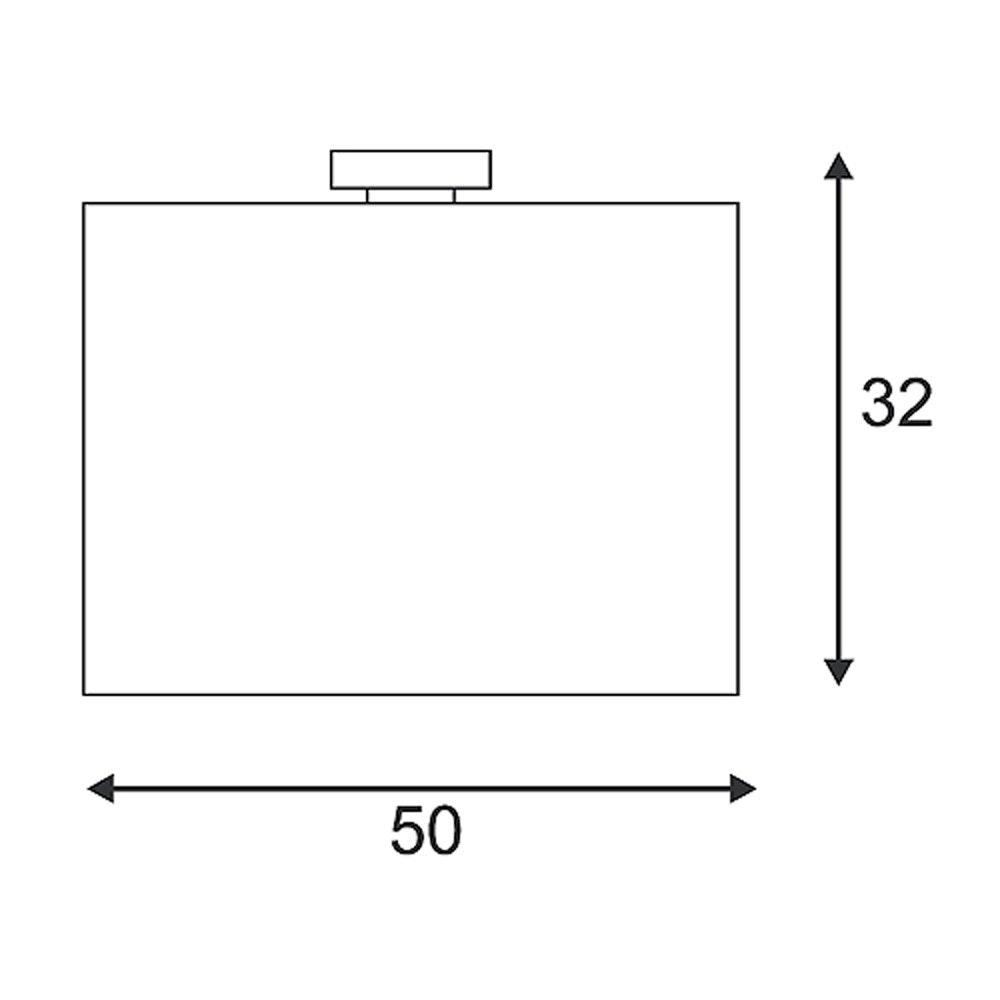 SLV Soprana Deckenleuchte CL-1 rund weisses Textil E27 max. 3x60W thumbnail 3