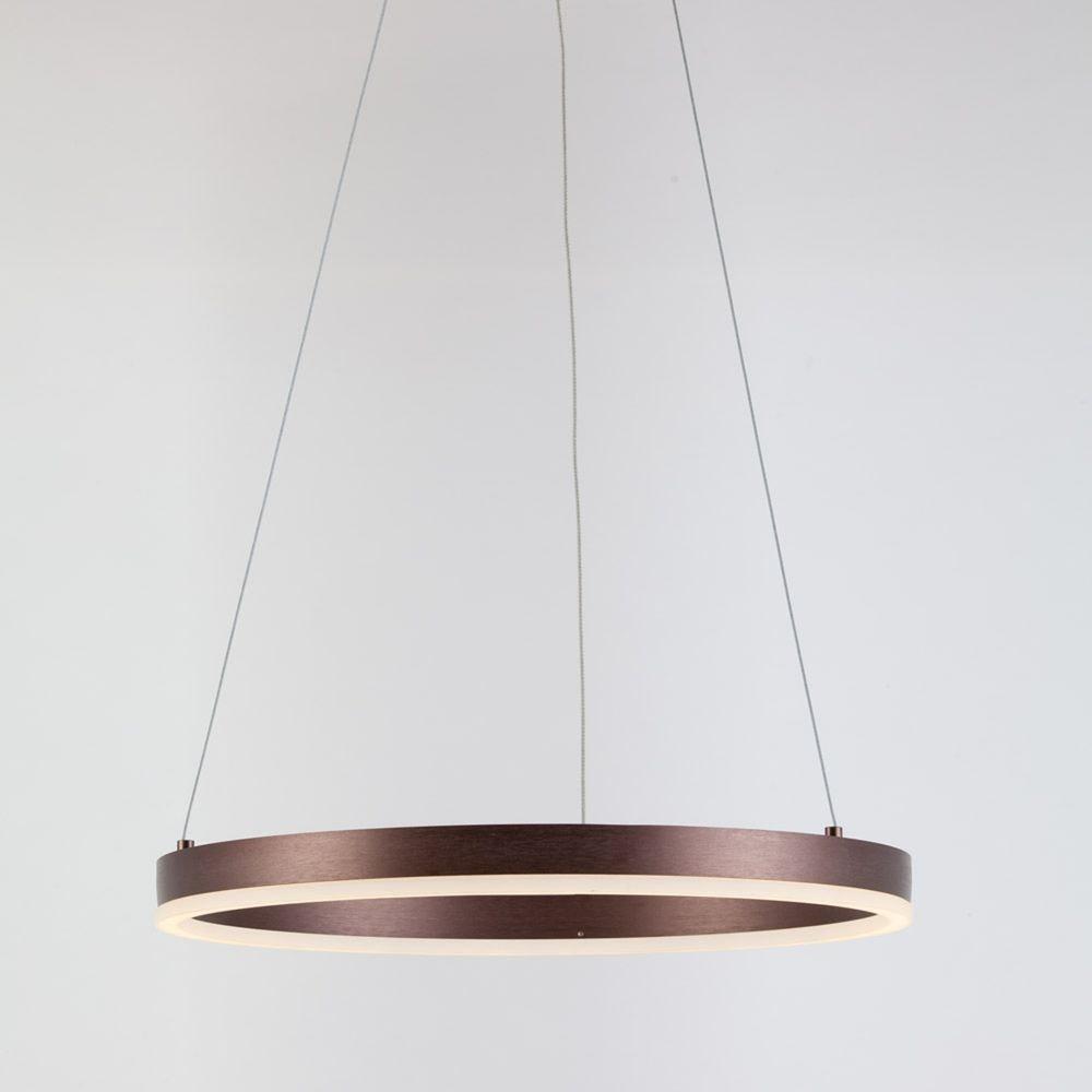 s.LUCE Ring 100 LED Hängelampe 5m Abhängung 20