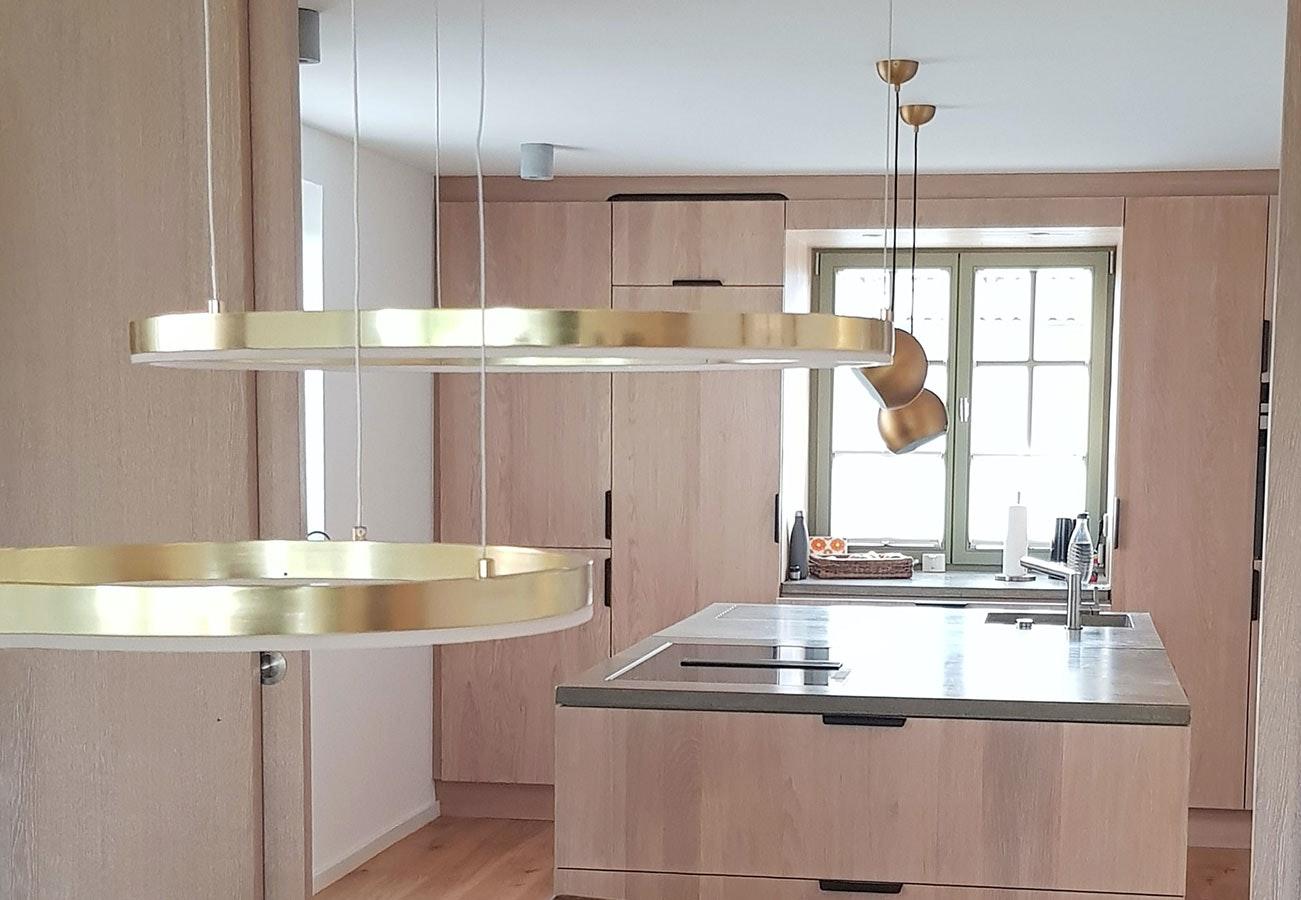 Pendelleuchten Ringe Küche