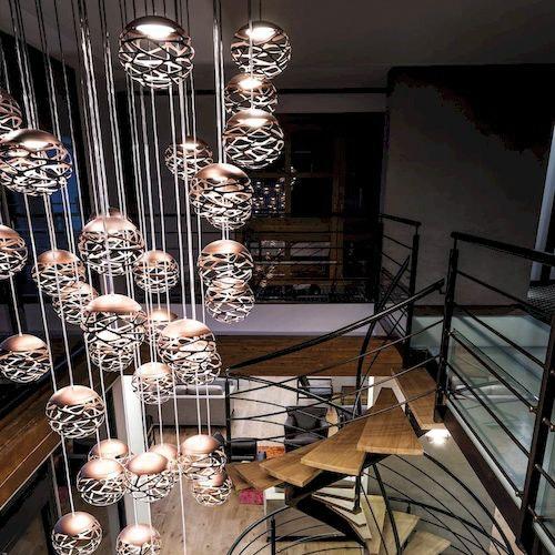 Lodes Kelly Cluster Sphere LED Pendellampe thumbnail 3