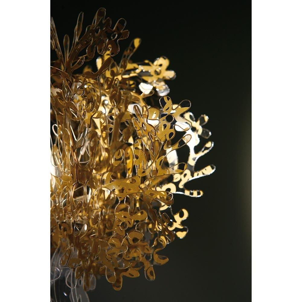 Slamp Tischlampe Fiorella 370lm 2800K Goldfarben 5