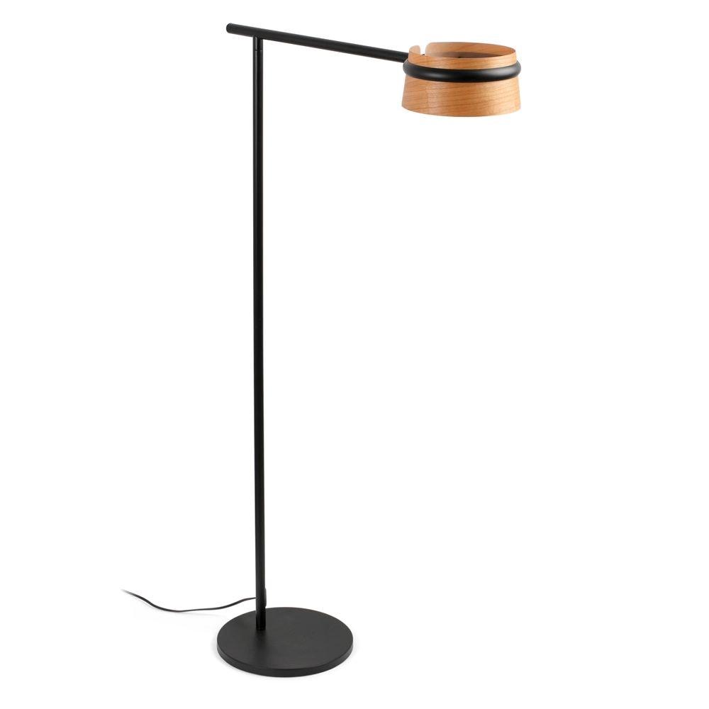 LED Stehlampe LOOP IP20 Schwarz, Braun
