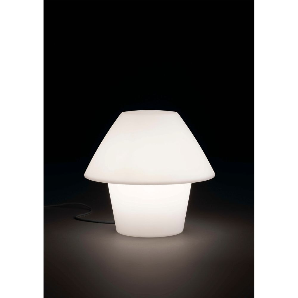 Außen-Tischlampe VERSUS-E IP44 Weiß 1