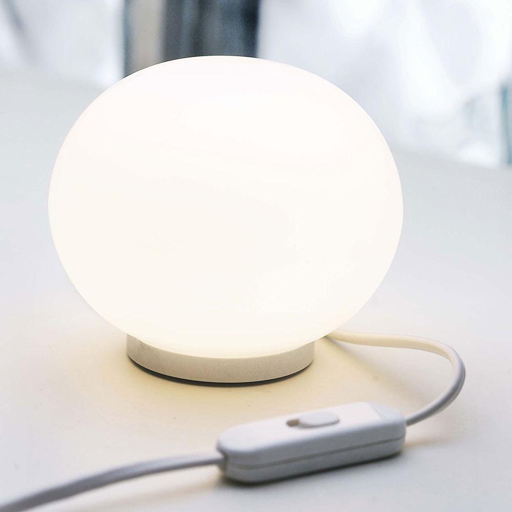 FLOS Glo-Ball Basic Zero Glas Tischlampe Ø 19cm 2