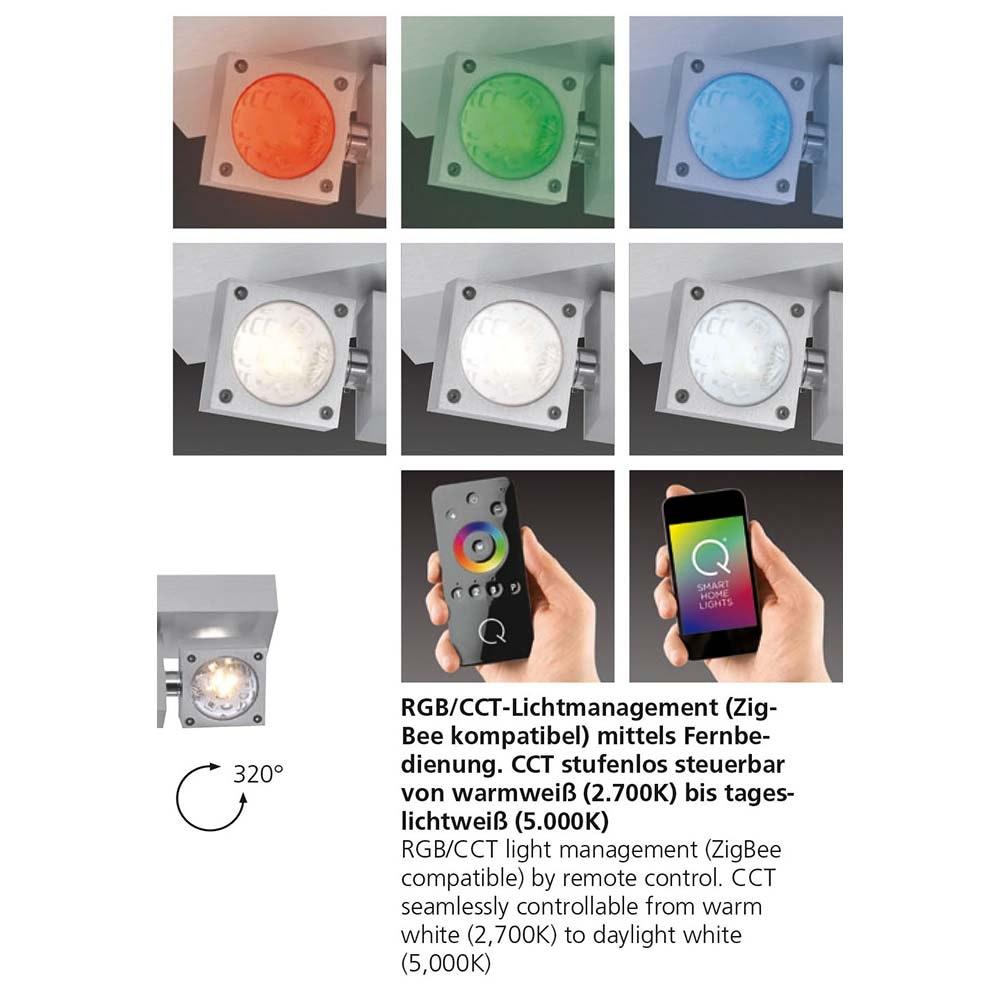 LED Deckenleuchte Q-Nemo RGB+CCT 9