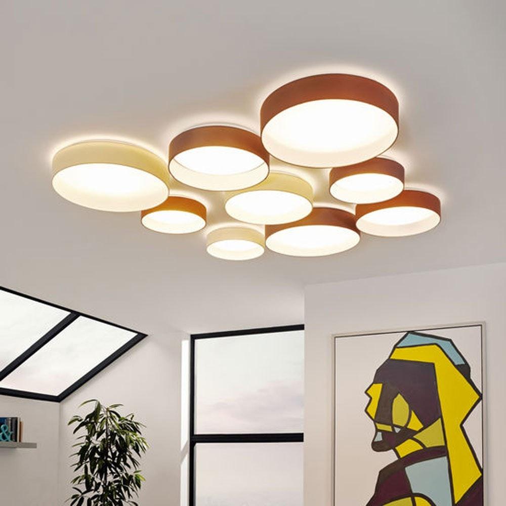 Palo LED Decken- & Wandleuchte Ø 32cm Creme 4