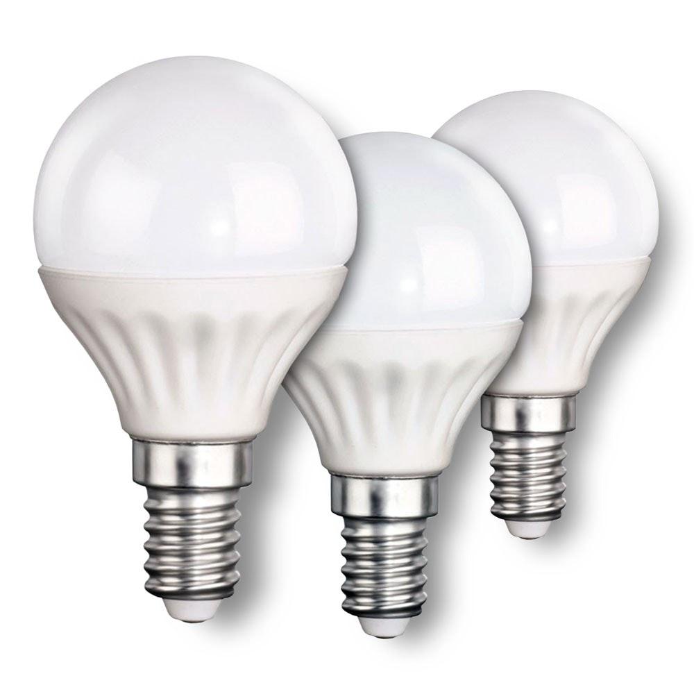 E14 LED-Leuchtmittel 3er-Set Tropfen 4W, 320lm 1