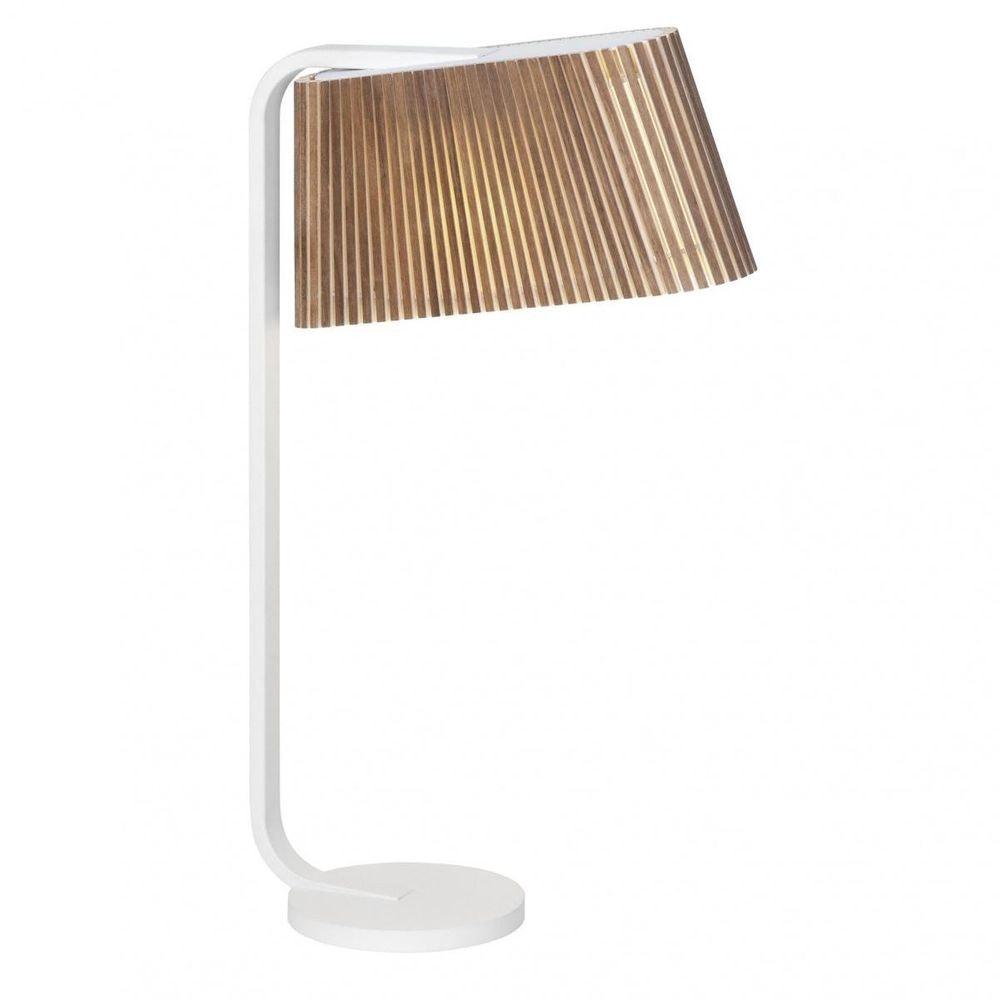 LED Tischleuchte Owalo 7020 aus Holz 50cm 6