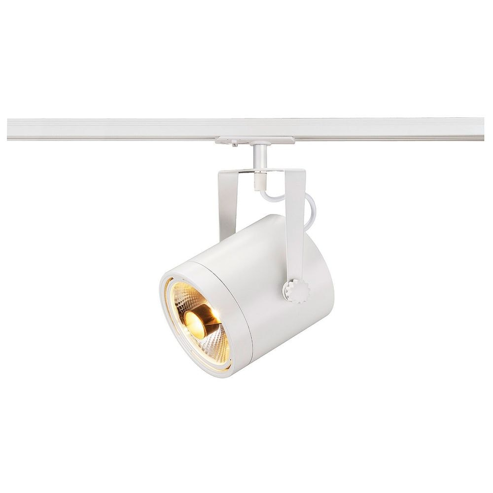 SLV Euro Spot ES111 weiss max. 75W inkl. 1P. -Adapter 1