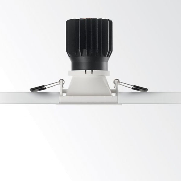 Ideal Lux Einbaustrahler Game Square Weiss Silber 3