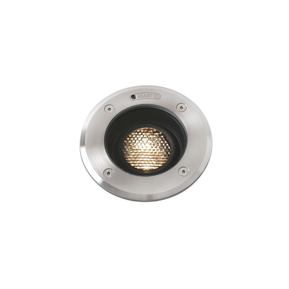 LED Bodenstrahler GEISER 3000K 10° IP67 salzwasserresitent