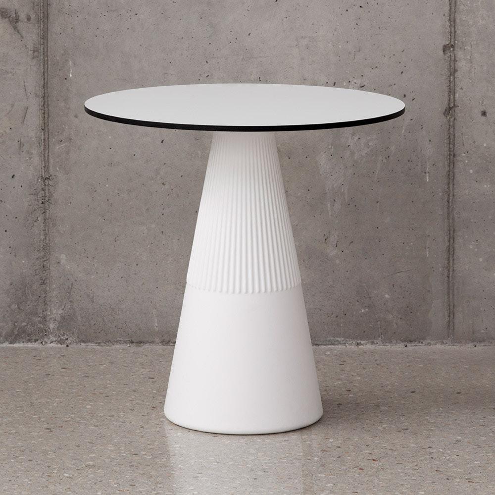 Licht-Trend LED beleuchteter Solar-Tisch Itaca mit Akku und Fernbedienung 1