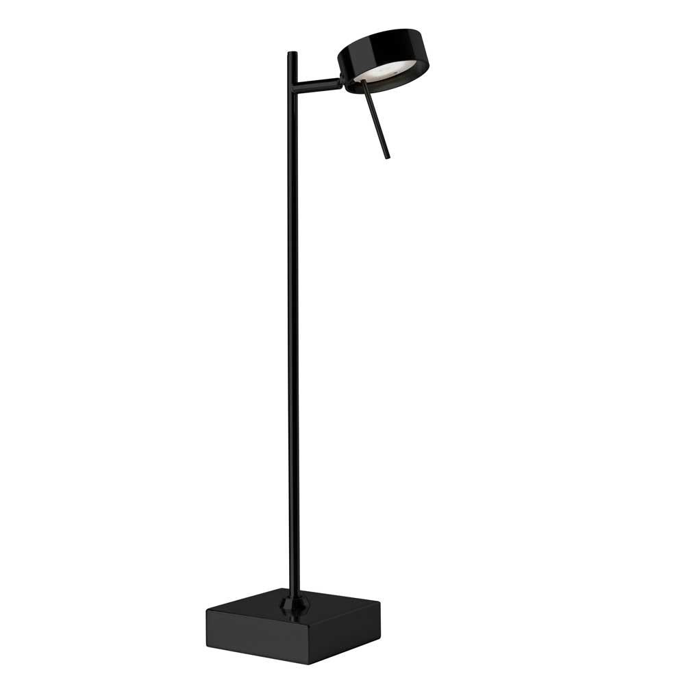 LED Tischleuchte mit Touchdimmer Bling 56cm Schwarz