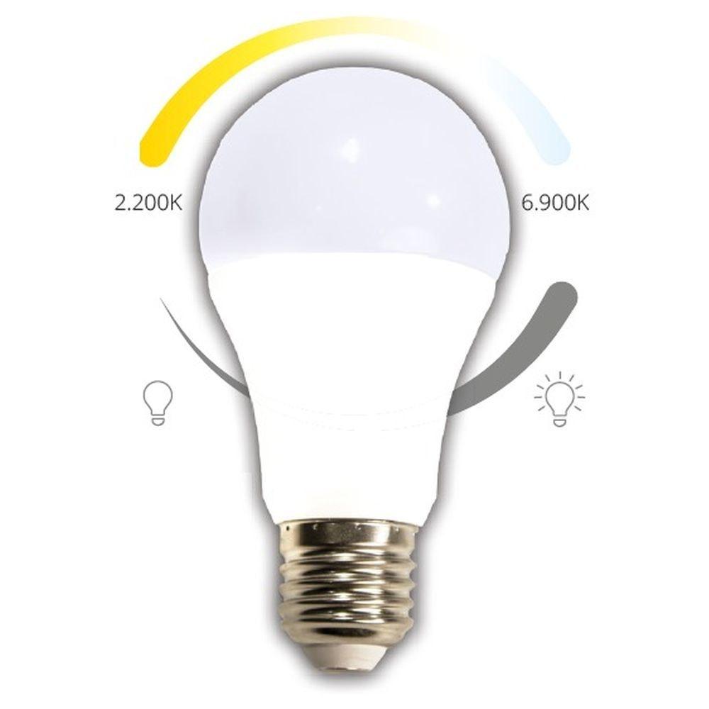 CASAMBI LED Leuchtmittel E27 CCT 2200-6900K 740lm 1