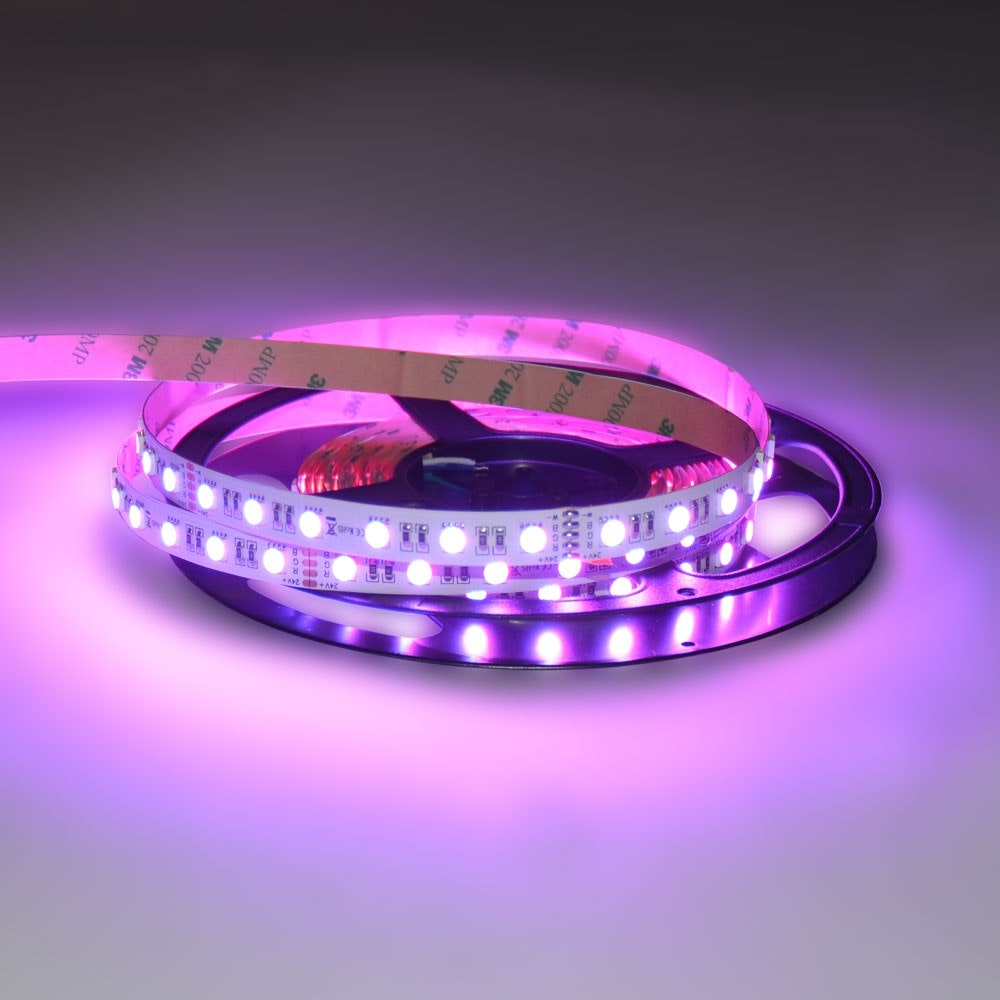 19,2 W/m RGBW Warmweiß 24V 5m LED-Strip IP20 12