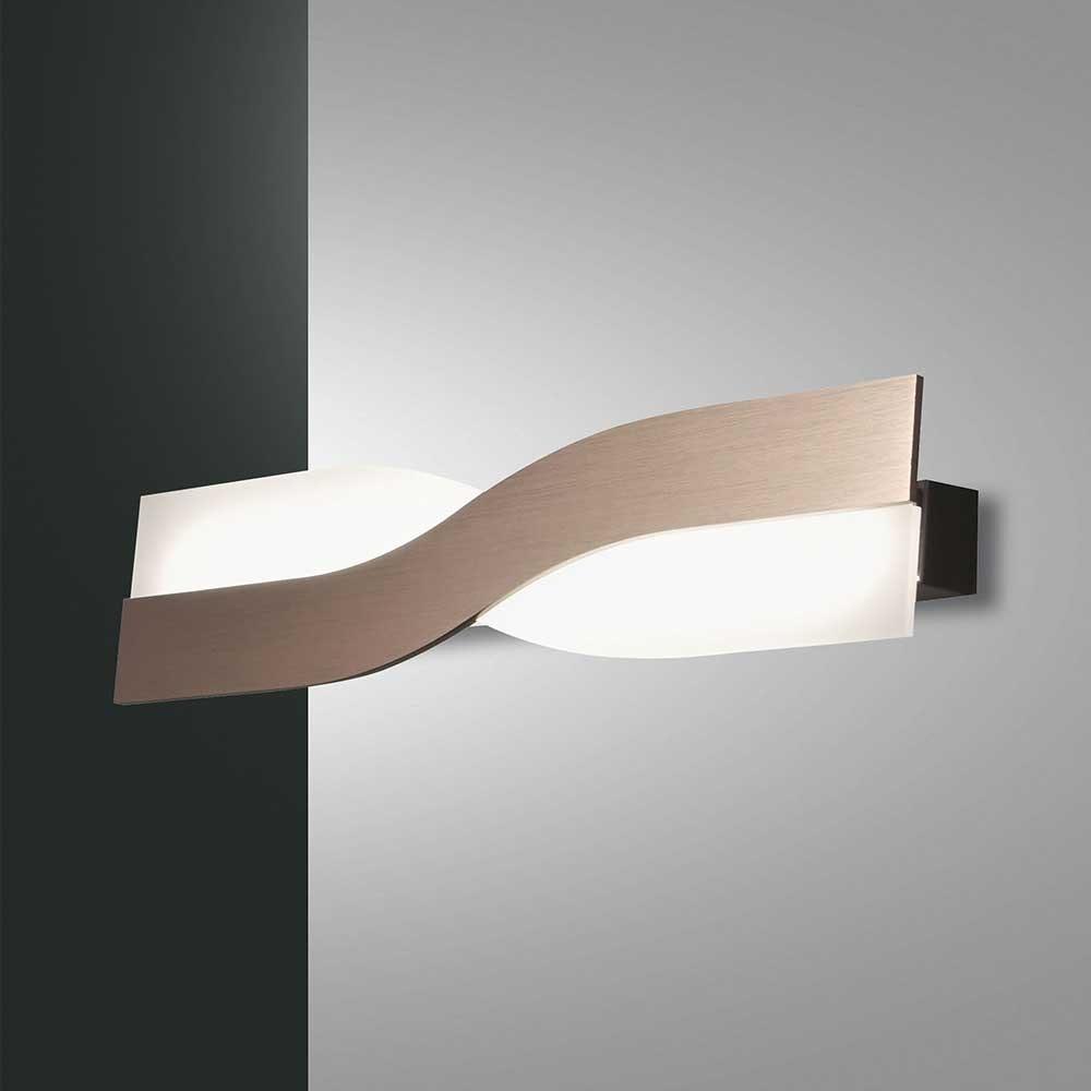 Fabas Luce LED Wandlampe Riace Metall 2