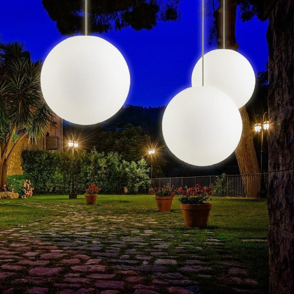 s.LUCE pro Globe+ Hänge-Kugellampe für Innen & Außen IP54