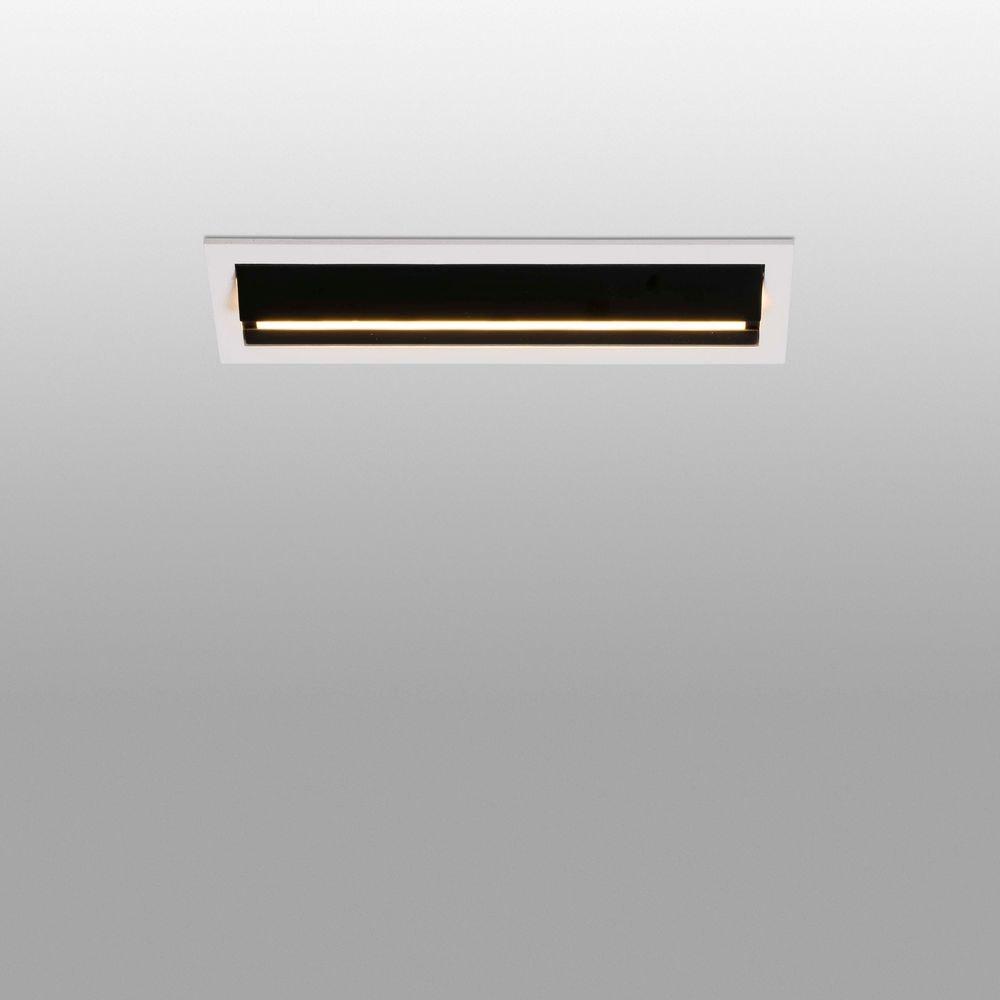 LED Einbaulampe TROPP 5x2W 3000K Schwarz