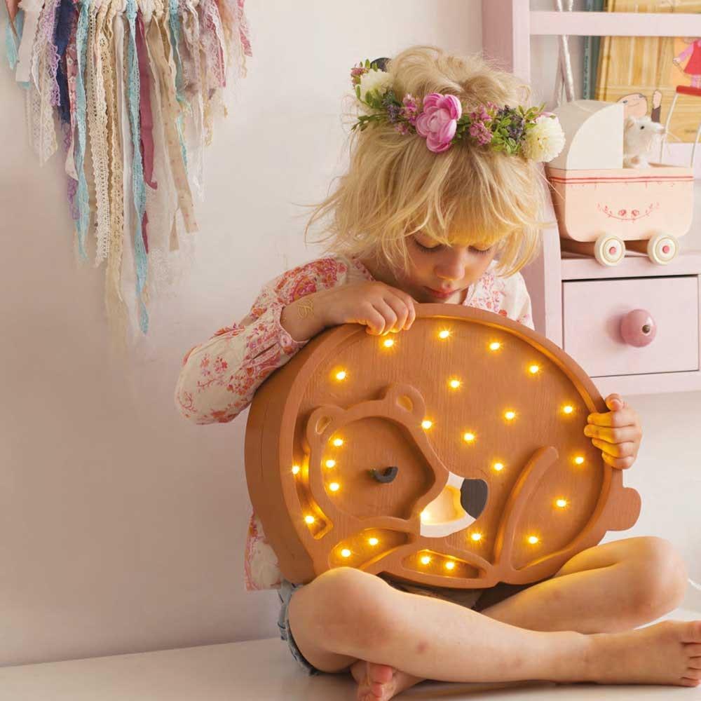 Little Lights Kinder Wand- & Tischleuchte Bär  1