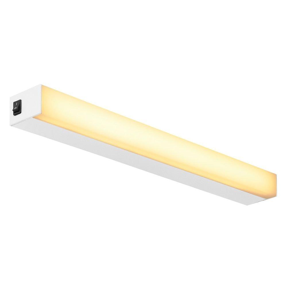 SLV Sight LED Wand- und Deckenleuchte mit Schalter 60cm Weiß 1