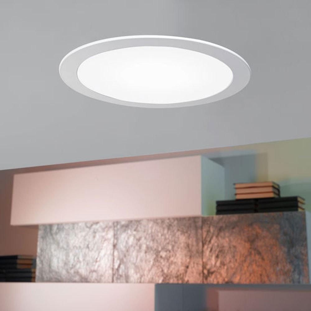 LED-Panel Einbau 300 Lumen Ø 8,5cm IP44 rund 8