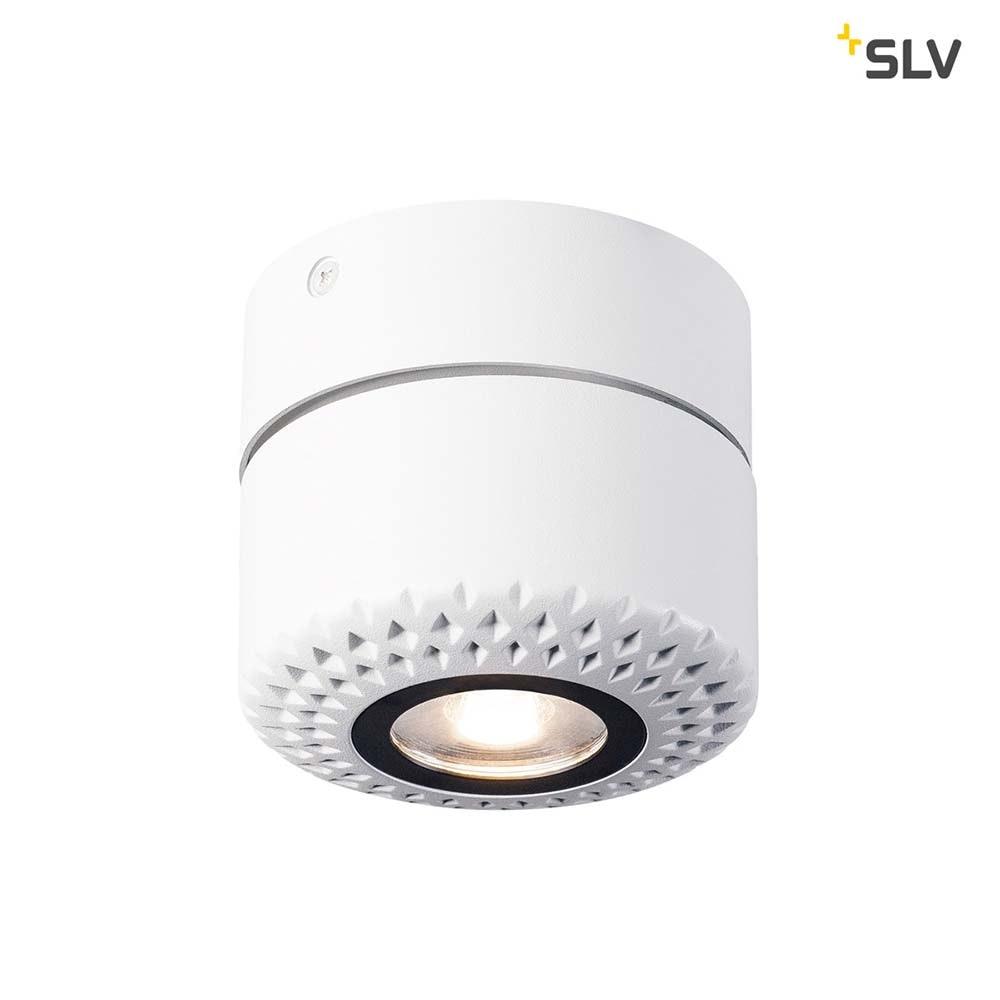 SLV Tothee LED Wand- & Deckenleuchte Weiß, Schwarz 3000K 50° 6