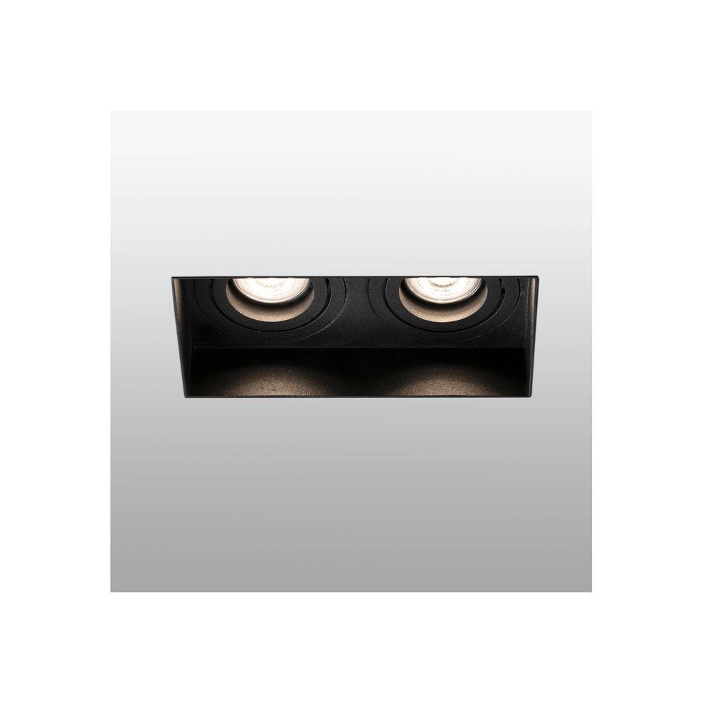 Einbaulampe HYDE 2-flammig GU10 Schwarz