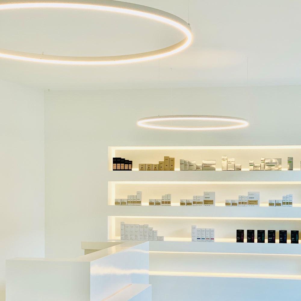 s.LUCE Ring 100 direkt oder indirekt LED-Hängelampe 13