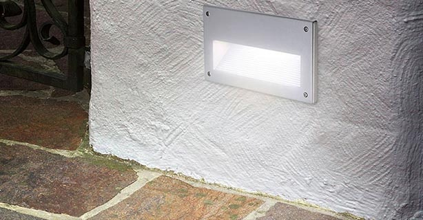 Wandeinbauleuchten Außen