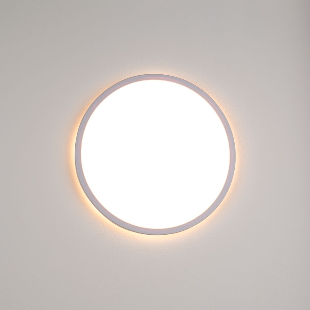 s.LUCE Disk 35cm LED Deckenleuchte warmweiß dimmbar 16