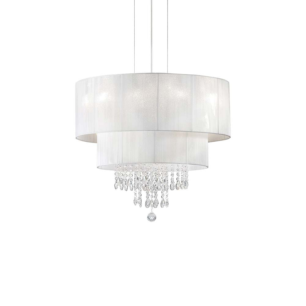 Ideal Lux Hängeleuchte Opera Sp4 Weiß