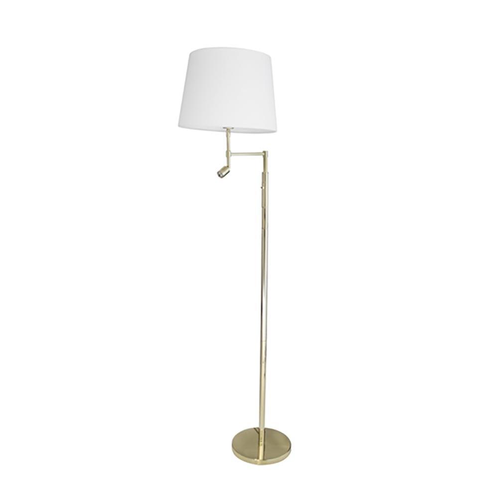 By Rydens Stehlampe Orlando 138cm mit LED-Lesearm 3