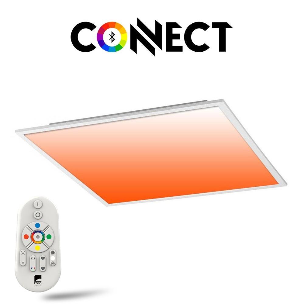Connect LED Panel Deckenlampe 59,5x59,5cm 4300lm RGB+CCT 1