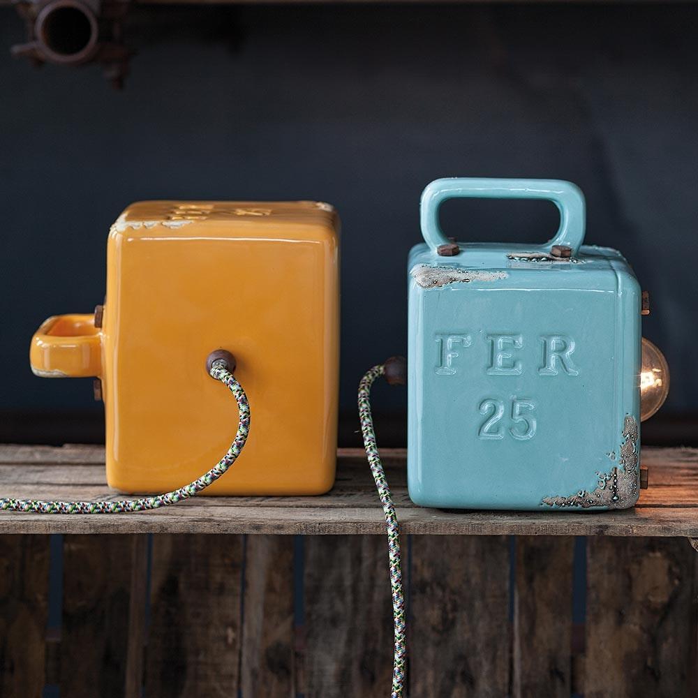 Ferroluce Industrial Retro-Tischleuchte mit Schalter 2