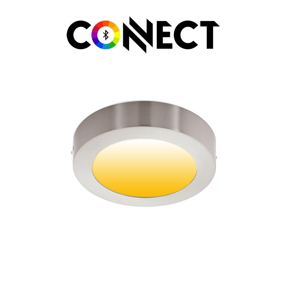 Connect LED Aufbaulampe Ø 22,5cm 2000lm RGB+CCT 1