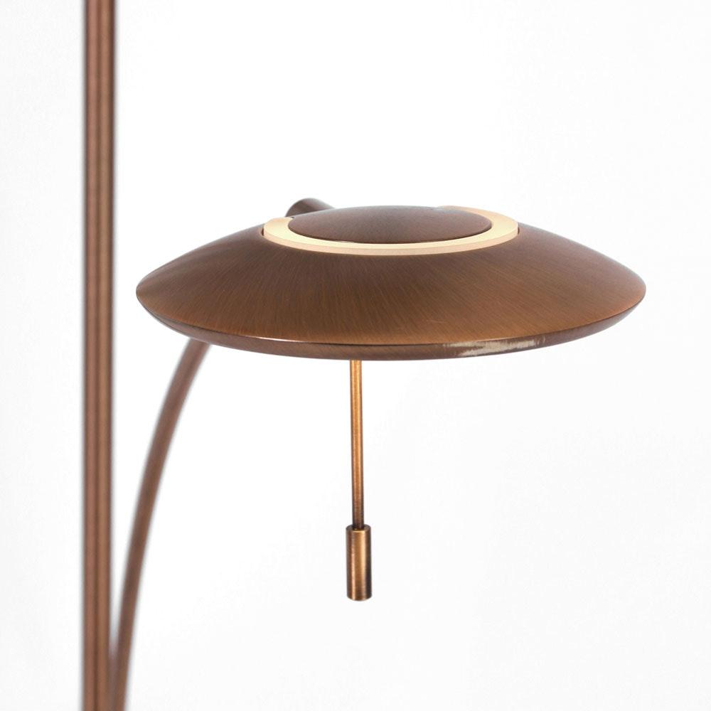 Steinhauer LED-Deckenfluter Zenith mit Lesearm & Tastdimmer CCT thumbnail 6