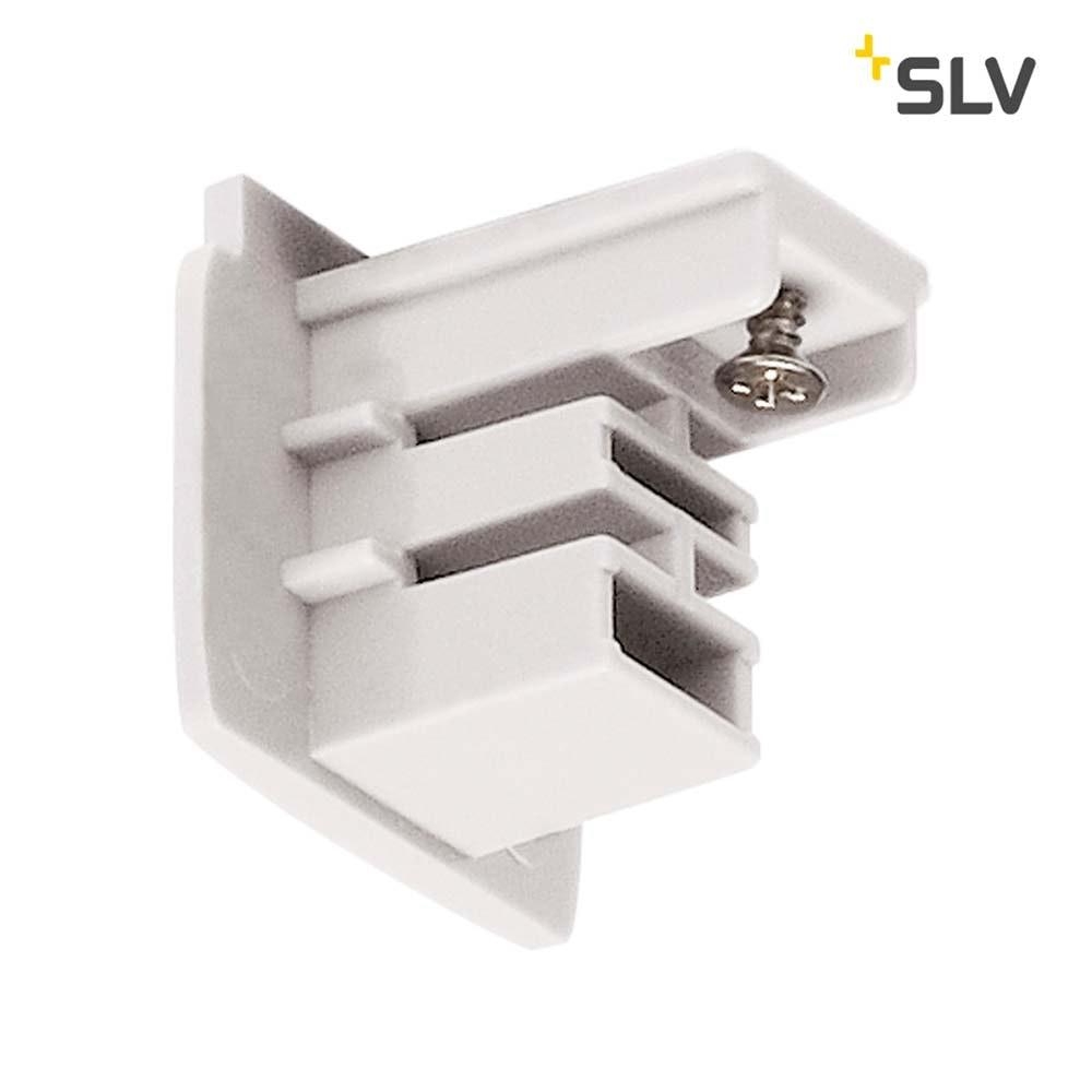 SLV Endkappe für S-Track 3P.-Schiene Weiß